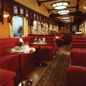 Our Selection Of Trains Offers Guests First Class Customer