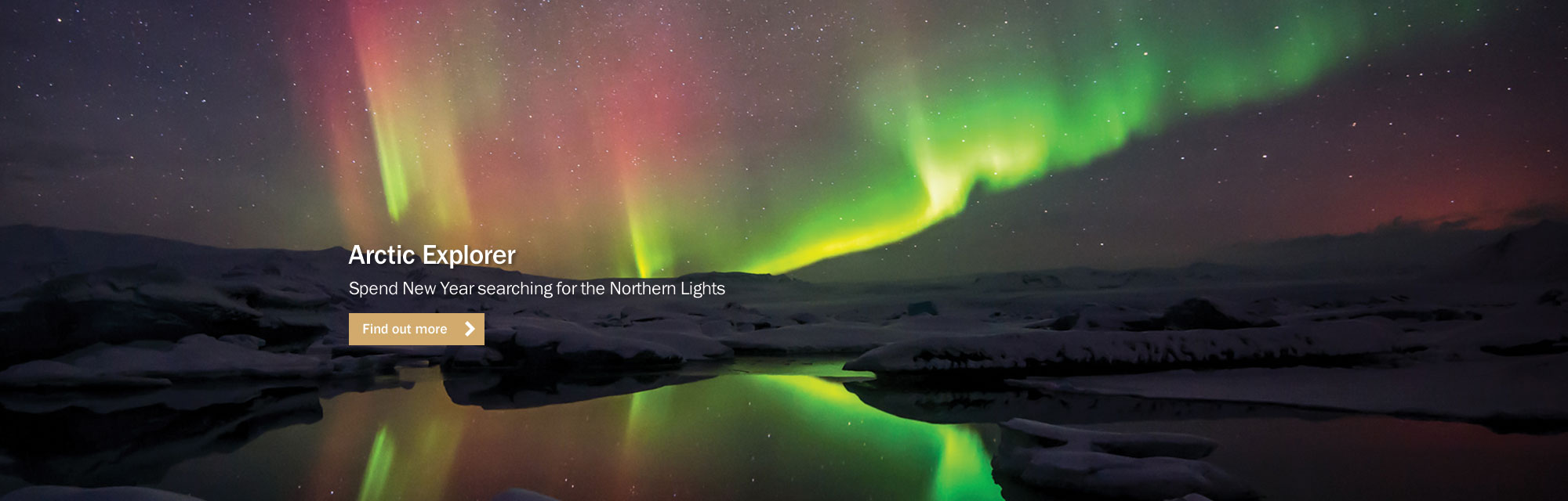 Arctic Explorer Northern Lights Holiday