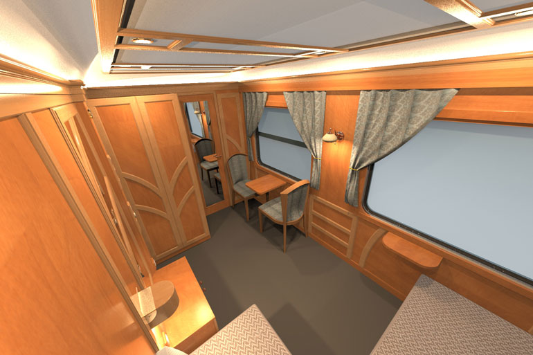 Luxury Rail Accommodation On Board The Golden Eagle Danube
