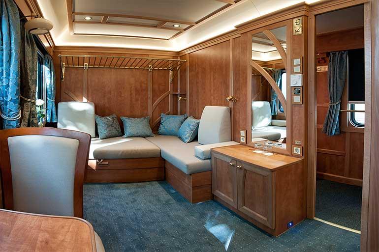 Luxury Rail Accommodation On Board The Golden Eagle Danube
