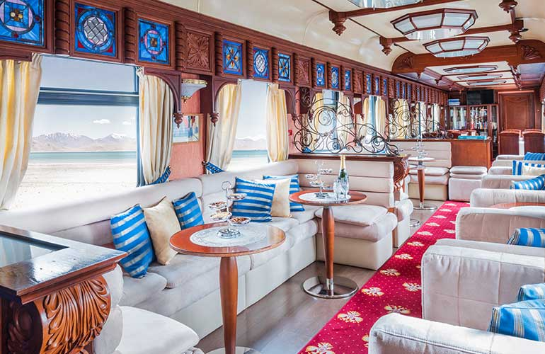 Luxury Train Travel On Board The Golden Eagle