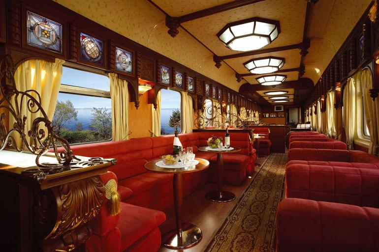 Golden Eagle Bar Lounge Car