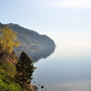 Early morning at Lake Baikal