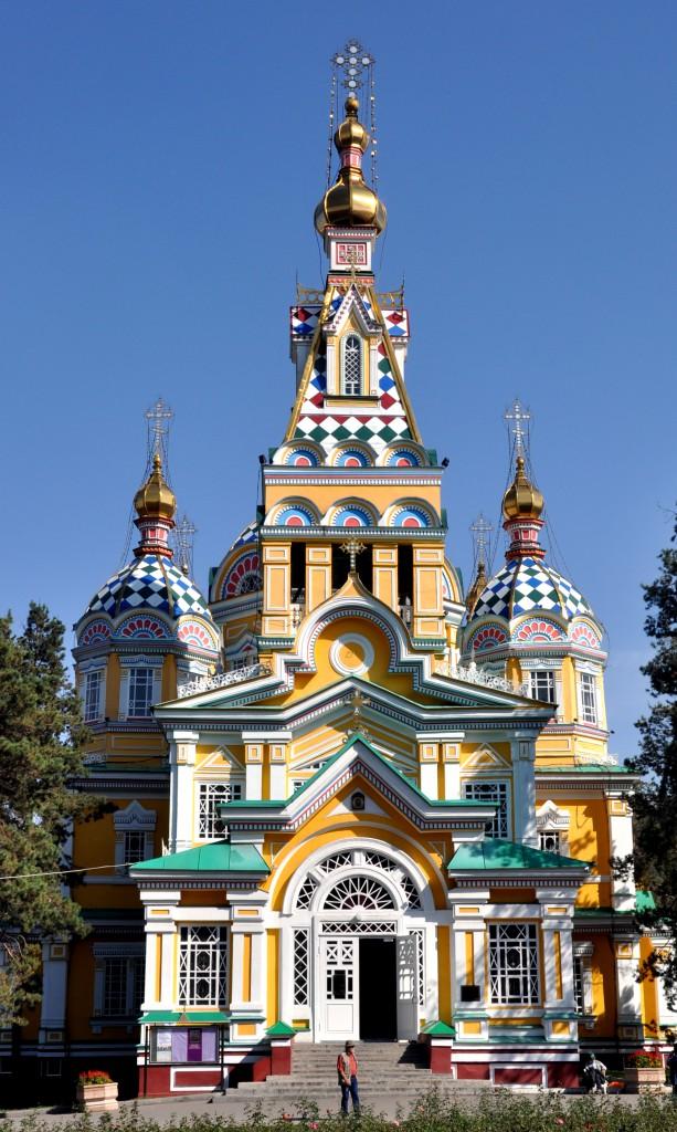 Zenkhov Cathedral, Almaty