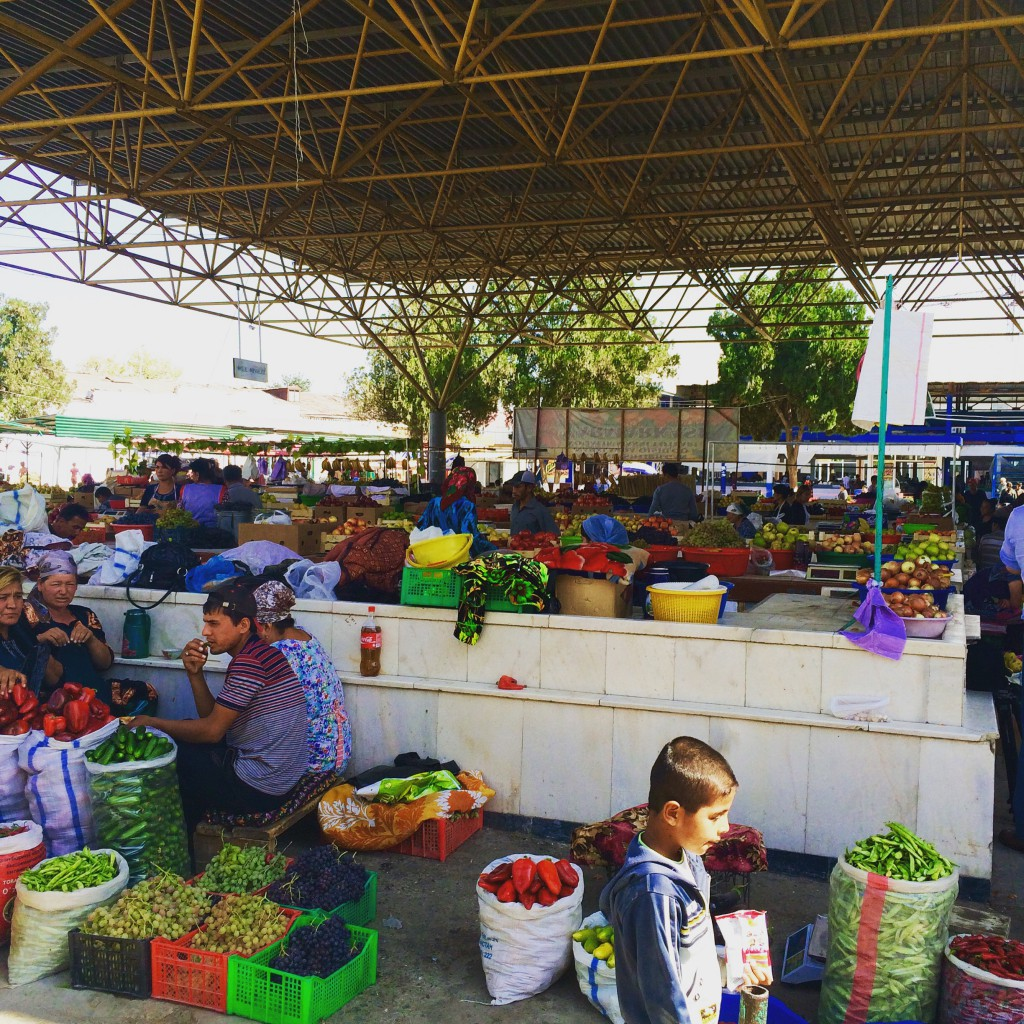 Local Food Markets, Samarkand (2)