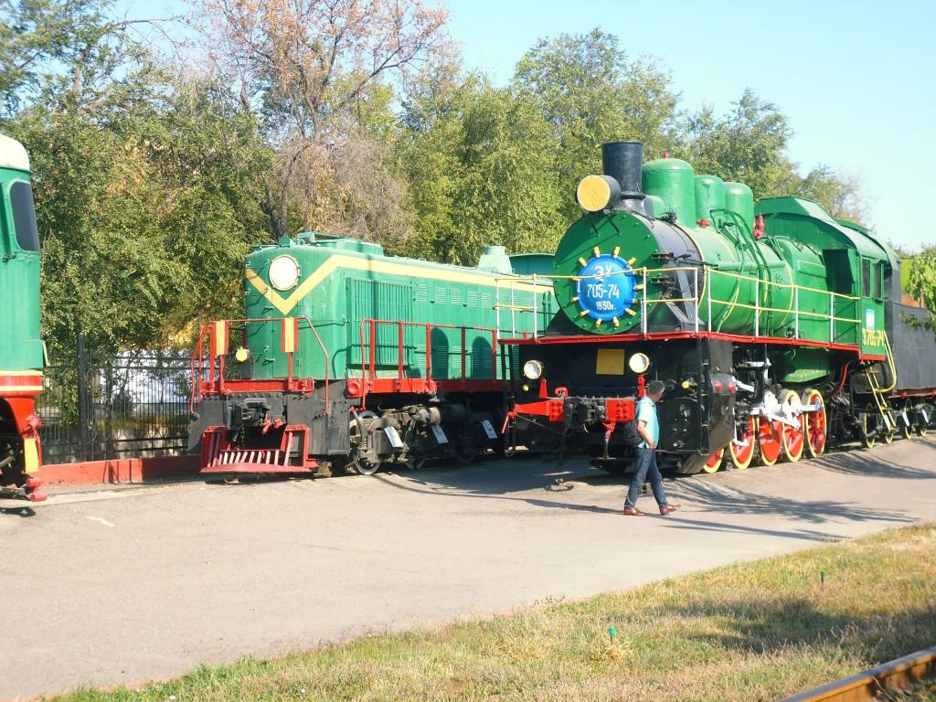 Tashkent Train Museum