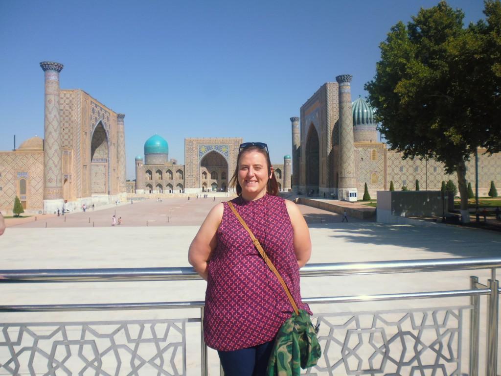 Zoe at Registan Square (36)