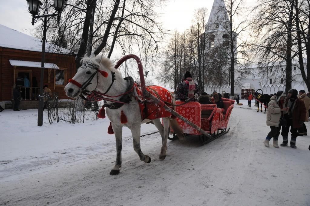 Sleigh Rides In Suzdal