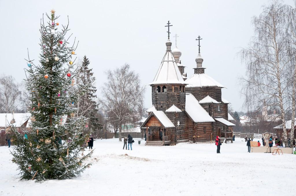 Wooden houses Vladimir