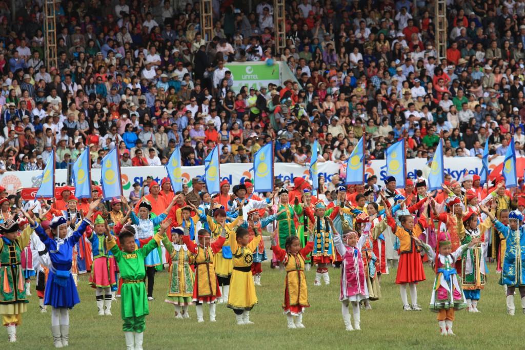 Naadam Festival ceremony
