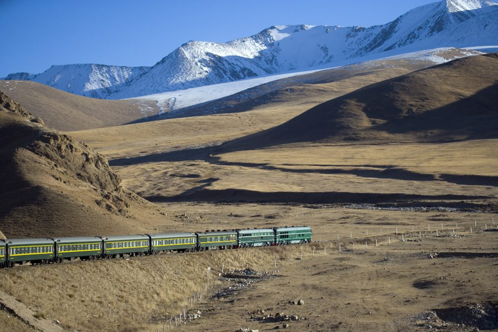 Train from Khashgar to Turpan
