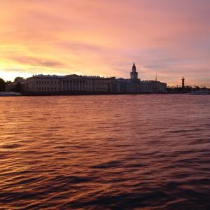 Midnight Sun in Saint Petersburg