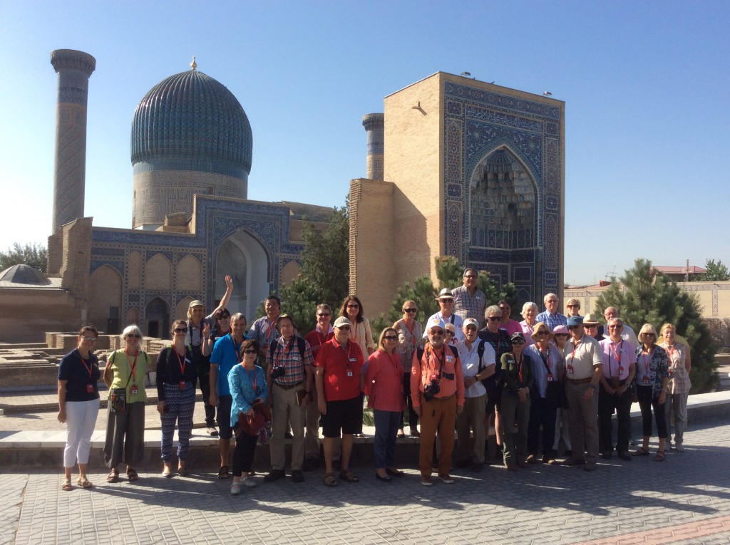 Our tour group on the Silk Road