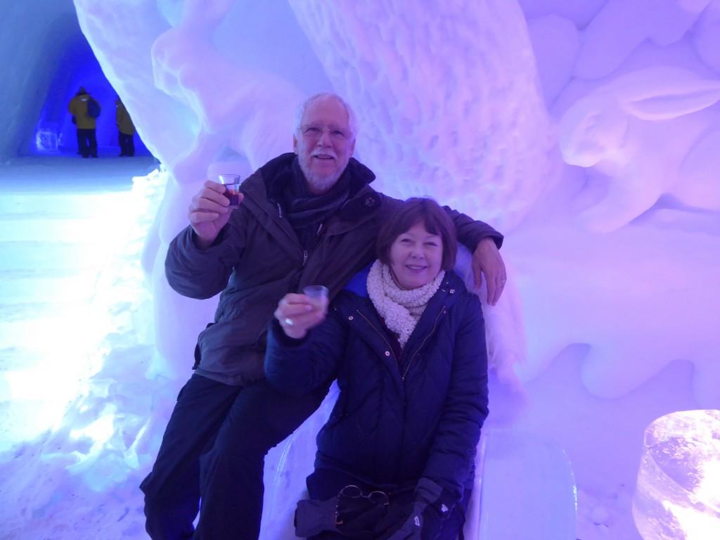 Professor Donald Kurtz and his wife