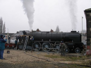 Tornado steam for the first time