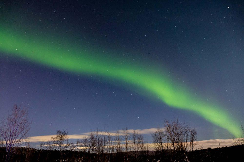Aurora Borealis in Murmansk, Russia
