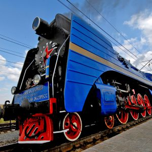 P36 Locomotive steam train