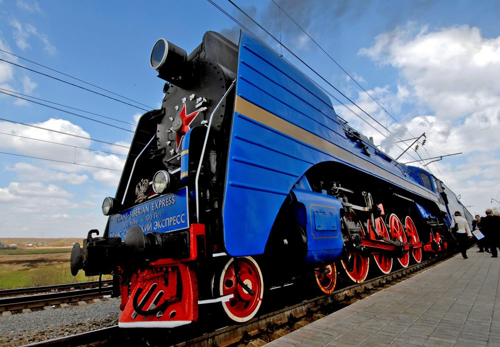 P36 Locomotive steam train