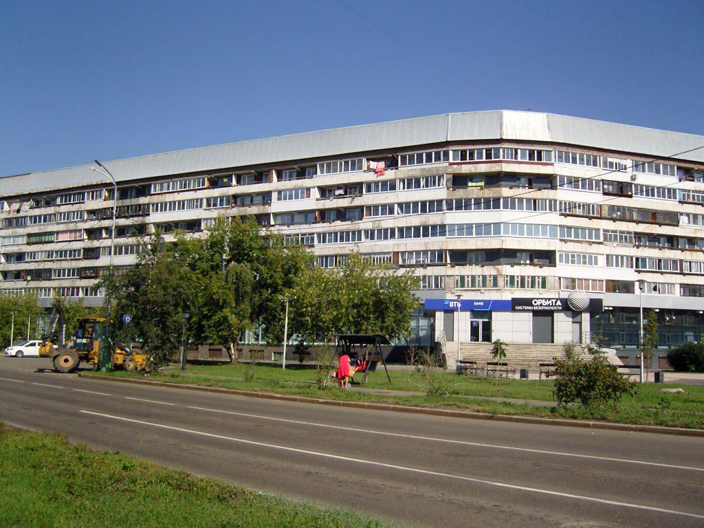 Housing block in Irkutsk