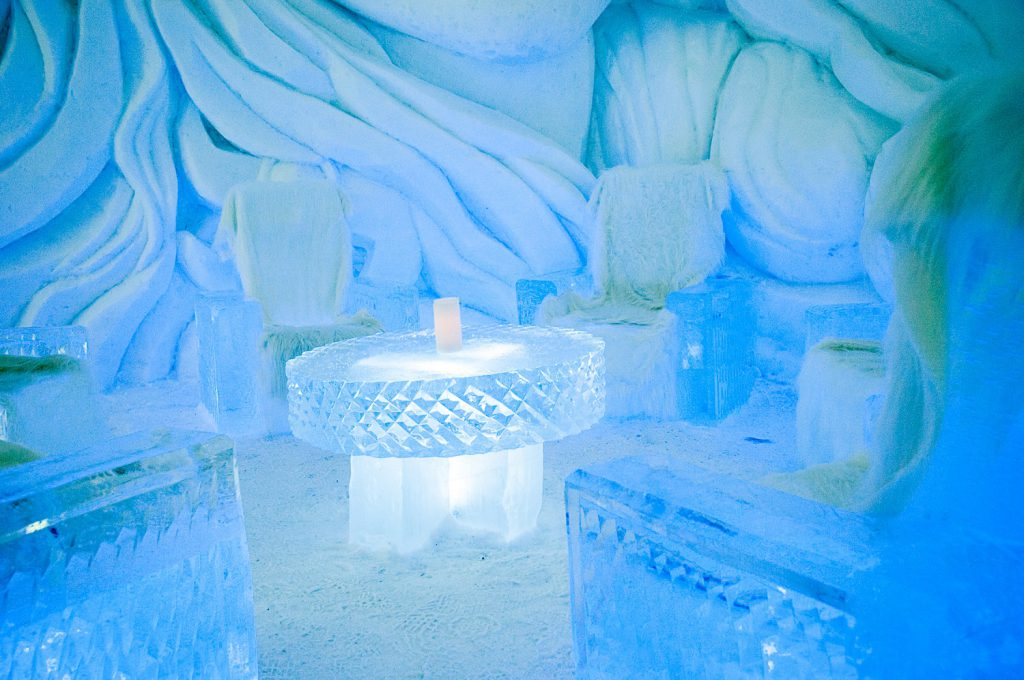 The Snow Hotel in Kirkenes.