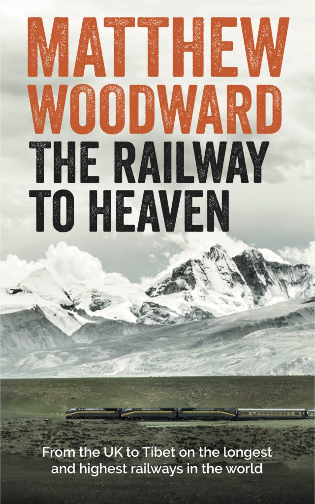 Book cover for Matthew Woodward's 'The Railway to Heaven'