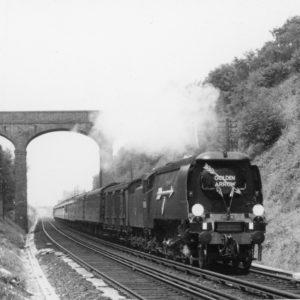 Lissenden Rodney - BR34086 - 'Golden Arrow' - near Tudeley - 2 July 1960