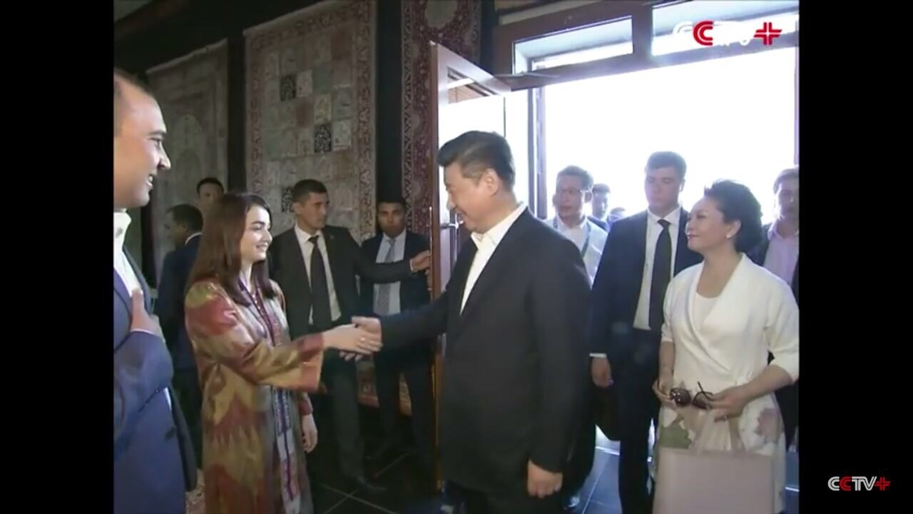 Sabina's extraordinary meeting with President Xi Jinping in 2016